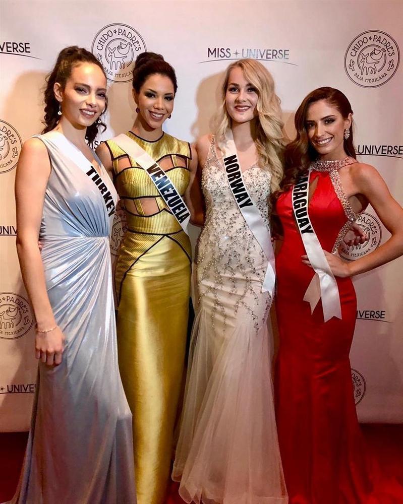 Miss Universe 2019 ngày thứ năm: Hoàng Thùy lên đồ kín đáo, dàn đối thủ ra sức lồng lộn-15