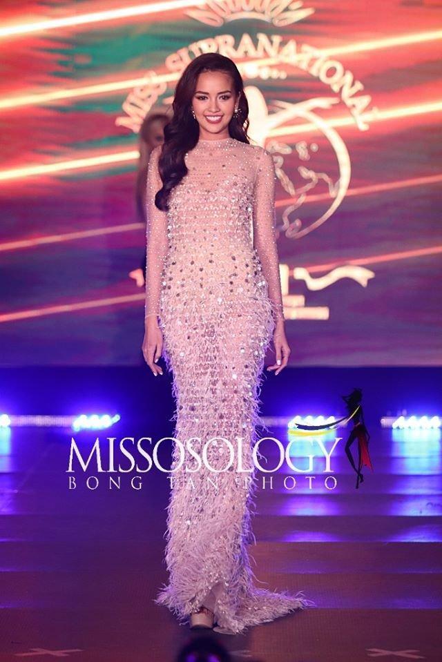Mang đầm cũ của Minh Tú dự thi Miss Supranational: Ngọc Châu trắng tay vì lộ nội y kém duyên-1