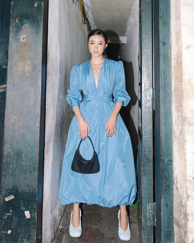 Chi Pu khoe đường cong S-line với đầm bó sát - Min hack tuổi với công thức mix đồ nữ sinh-7