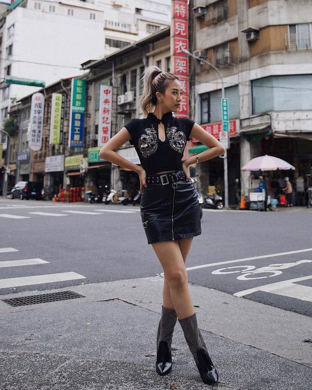 Chi Pu khoe đường cong S-line với đầm bó sát - Min hack tuổi với công thức mix đồ nữ sinh-9