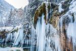 Thác nước đóng băng đẹp nao lòng ở 'Xứ sở Thần tiên'