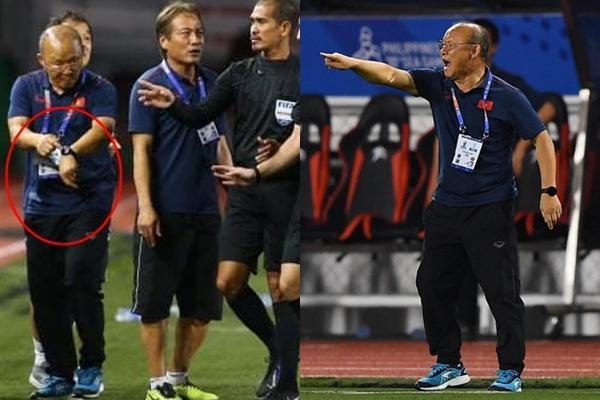 Lan truyền khoảnh khắc thầy Park nổi đóa với trọng tài vì làm U22 Việt Nam gặp bất lợi-2