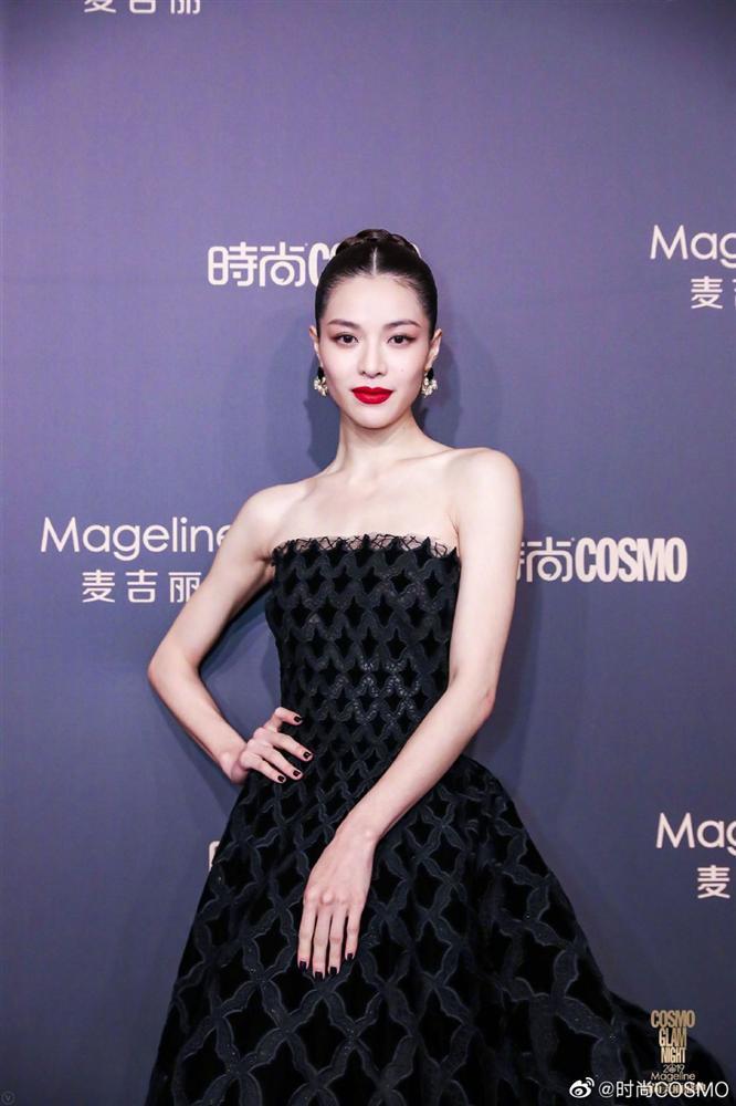 Thảm đỏ Cosmo: Địch Lệ Nhiệt Ba khoe vòng 1 bỏng mắt, Yoona lép vế dàn mỹ nhân Hoa ngữ-14
