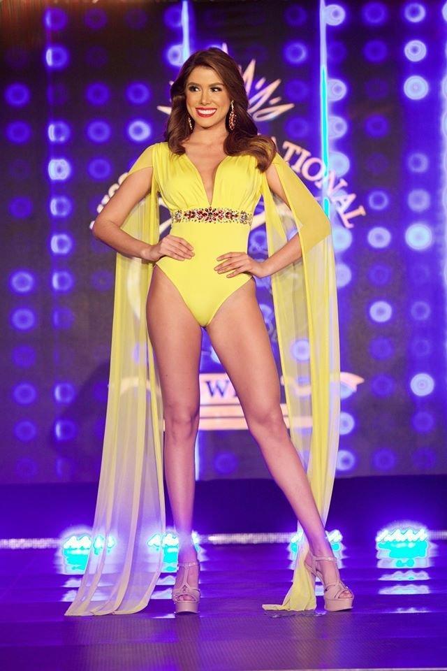 Ngọc Châu gầy gò trong phần thi áo tắm tại Bán kết Miss Supranational 2019-7