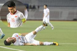 Thông tin mới nhất về tình hình chấn thương của Quang Hải sau trận gặp Singapore