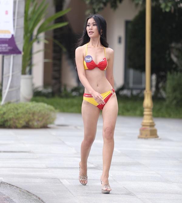 Thí sinh Hoa hậu Hoàn vũ Việt Nam 2019 thi Người đẹp biển: Chiến thắng gọi tên ai?-2