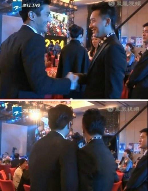 Han Geng ôm Hee Chul sau 10 năm rời Super Junior-8