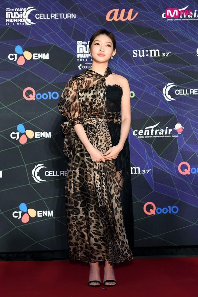 Thảm đỏ lễ trao giải MAMA: BTS cá tính, Cổ Lực Na Trát make-up vội vẫn đẹp xuất sắc-10