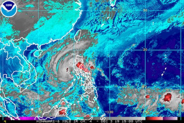 Philippines: Bão Kammuri làm 13 người chết-1