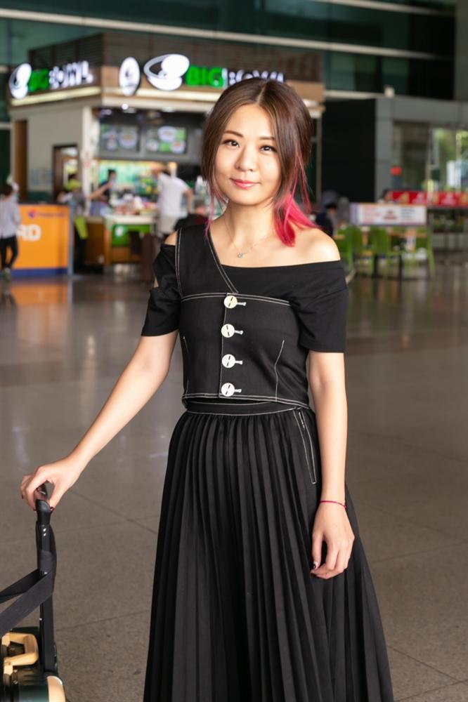 Fiona Fung, Young Jae (B.A.P) cùng dàn nghệ sĩ châu Á đổ bộ sân bay Tân Sơn Nhất-3