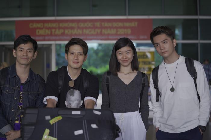 Fiona Fung, Young Jae (B.A.P) cùng dàn nghệ sĩ châu Á đổ bộ sân bay Tân Sơn Nhất-9