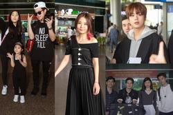 Fiona Fung, Young Jae (B.A.P) cùng dàn nghệ sĩ châu Á đổ bộ sân bay Tân Sơn Nhất
