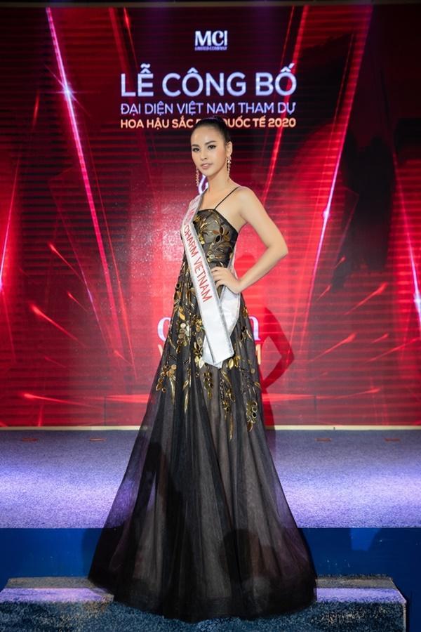 Á khôi Quỳnh Nga đại diện Việt Nam tranh vương miện Miss Charm International 2020-1