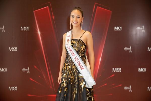 Á khôi Quỳnh Nga đại diện Việt Nam tranh vương miện Miss Charm International 2020-3