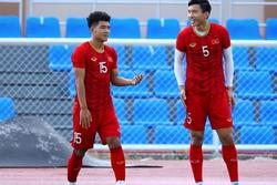 Văn Hậu, Văn Toản và team chân dài cao hơn 1,80 m của U22 Việt Nam