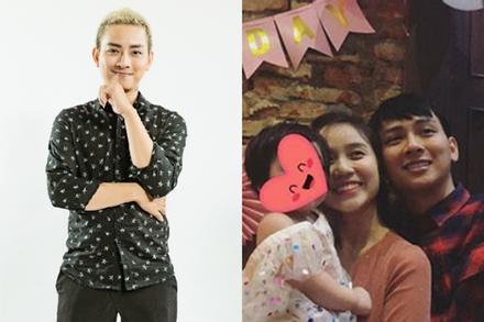 Bảo Ngọc bị chê sống giả tạo, Hoài Lâm cảnh cáo người dùng Facebook: 'Đừng đụng đến vợ con tôi'