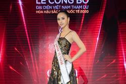 Á khôi Quỳnh Nga đại diện Việt Nam tranh vương miện Miss Charm International 2020