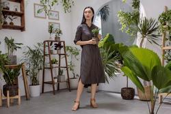 Cửa hàng Uniqlo xanh ngát của Fashionista Helly Tống