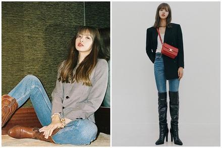 Lisa và dàn mỹ nhân Hàn gợi ý cách phối đồ đẹp khi đi boots