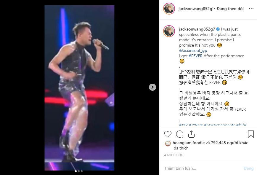 Jackson (GOT7) sốc không khép nổi miệng khi chứng kiến Hwasa ngồi lên đùi chủ tịch JYP-4