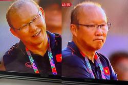 Trợ lý 'ăn' thẻ vàng ngoài đường biên, nụ cười bí hiểm của HLV Park Hang Seo chiếm trọn spotlight