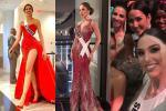 Miss Universe 2019 ngày thứ 7: Đối thủ lên đồ rực rỡ, tìm Hoàng Thùy khó như mò kim đáy bể