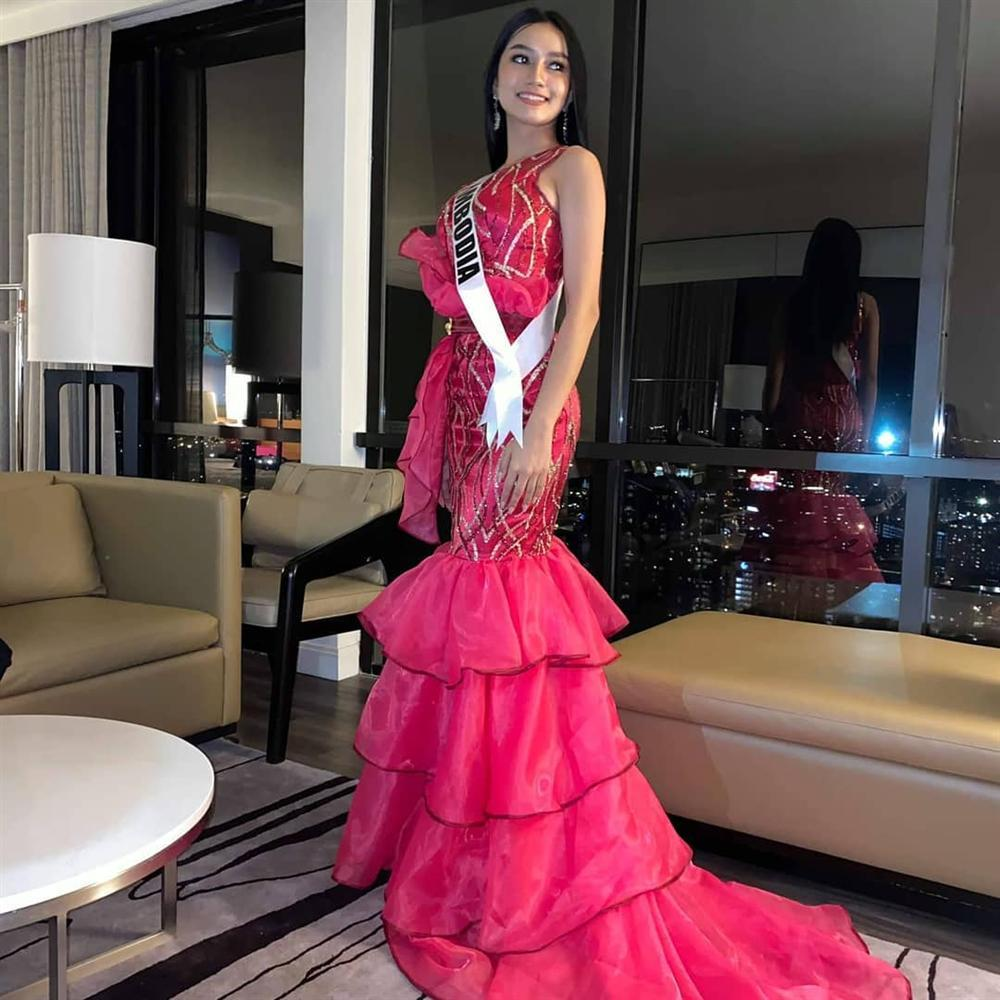 Miss Universe 2019 ngày thứ 7: Đối thủ lên đồ rực rỡ, tìm Hoàng Thùy khó như mò kim đáy bể-9
