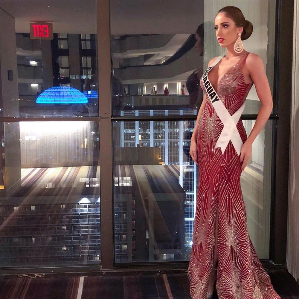 Miss Universe 2019 ngày thứ 7: Đối thủ lên đồ rực rỡ, tìm Hoàng Thùy khó như mò kim đáy bể-10