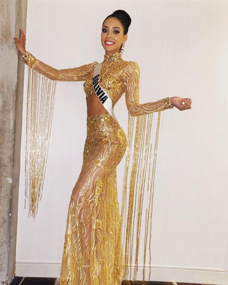 Miss Universe 2019 ngày thứ 7: Đối thủ lên đồ rực rỡ, tìm Hoàng Thùy khó như mò kim đáy bể-13
