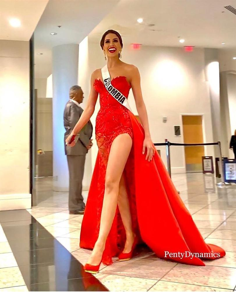 Miss Universe 2019 ngày thứ 7: Đối thủ lên đồ rực rỡ, tìm Hoàng Thùy khó như mò kim đáy bể-3