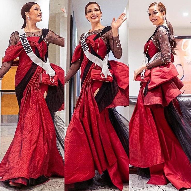 Miss Universe 2019 ngày thứ 7: Đối thủ lên đồ rực rỡ, tìm Hoàng Thùy khó như mò kim đáy bể-6