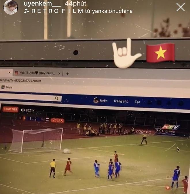 Bạn gái Văn Hậu sang Philippines xem U22 Việt Nam đấu Thái Lan-5