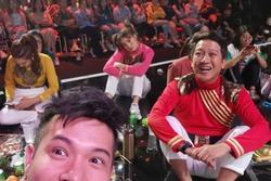 Lan Ngọc, Trường Giang ngừng quay khi U22 Việt Nam gỡ hòa Thái Lan
