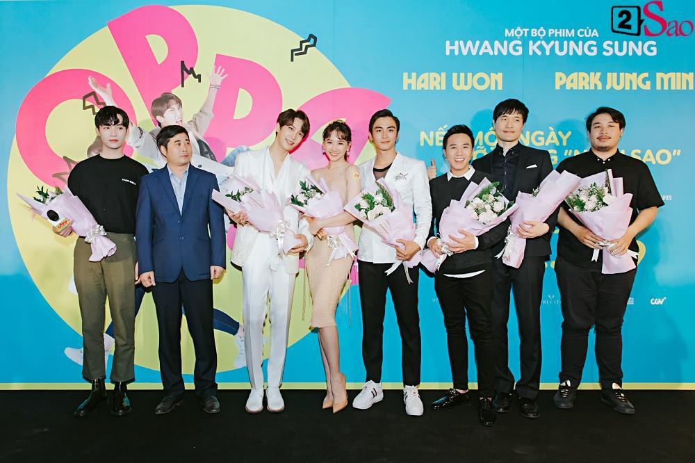 Hari Won khen Park Jung Min và Trấn Thành đều là nam thần tài giỏi-1