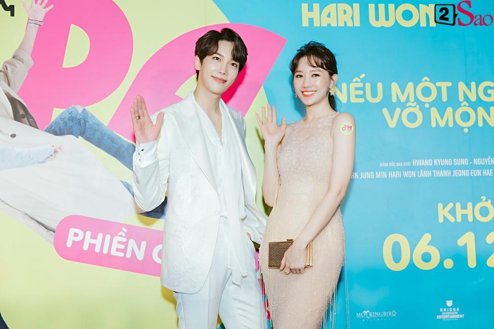 Hari Won khen Park Jung Min và Trấn Thành đều là nam thần tài giỏi-8