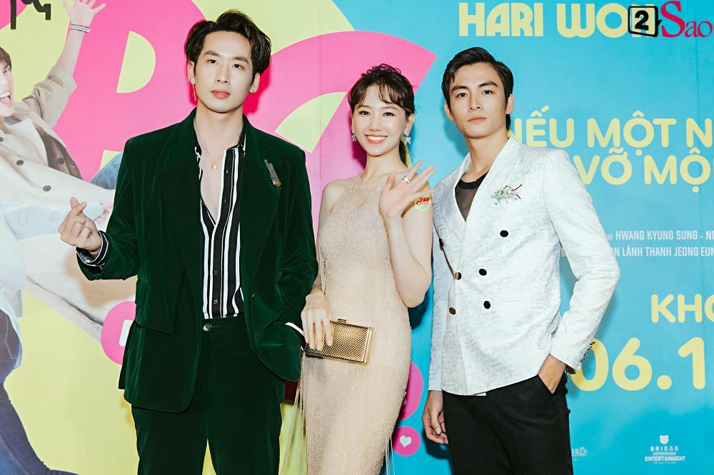 Hari Won khen Park Jung Min và Trấn Thành đều là nam thần tài giỏi-10