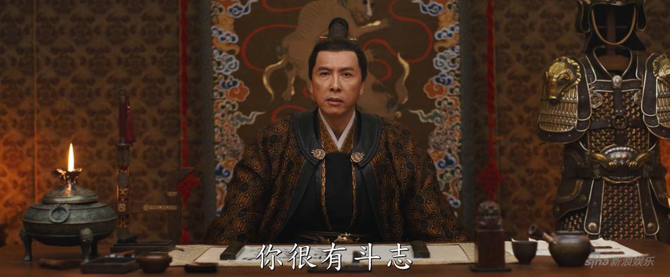 Lưu Diệc Phi nhạt nhòa và lép vế trước Củng Lợi trong trailer phim Mulan-4