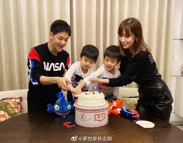 Đăng ảnh mừng sinh nhật con trai, Lâm Chí Dĩnh lại gây sốt vì quá trẻ ở tuổi U50-1
