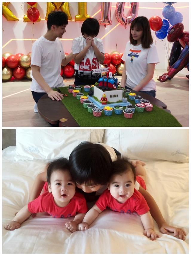 Đăng ảnh mừng sinh nhật con trai, Lâm Chí Dĩnh lại gây sốt vì quá trẻ ở tuổi U50-3