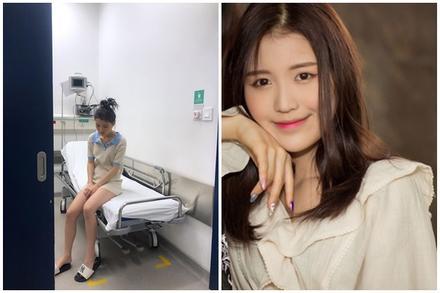 Han Sara nhập viện trong đêm, phải ngồi xe lăn