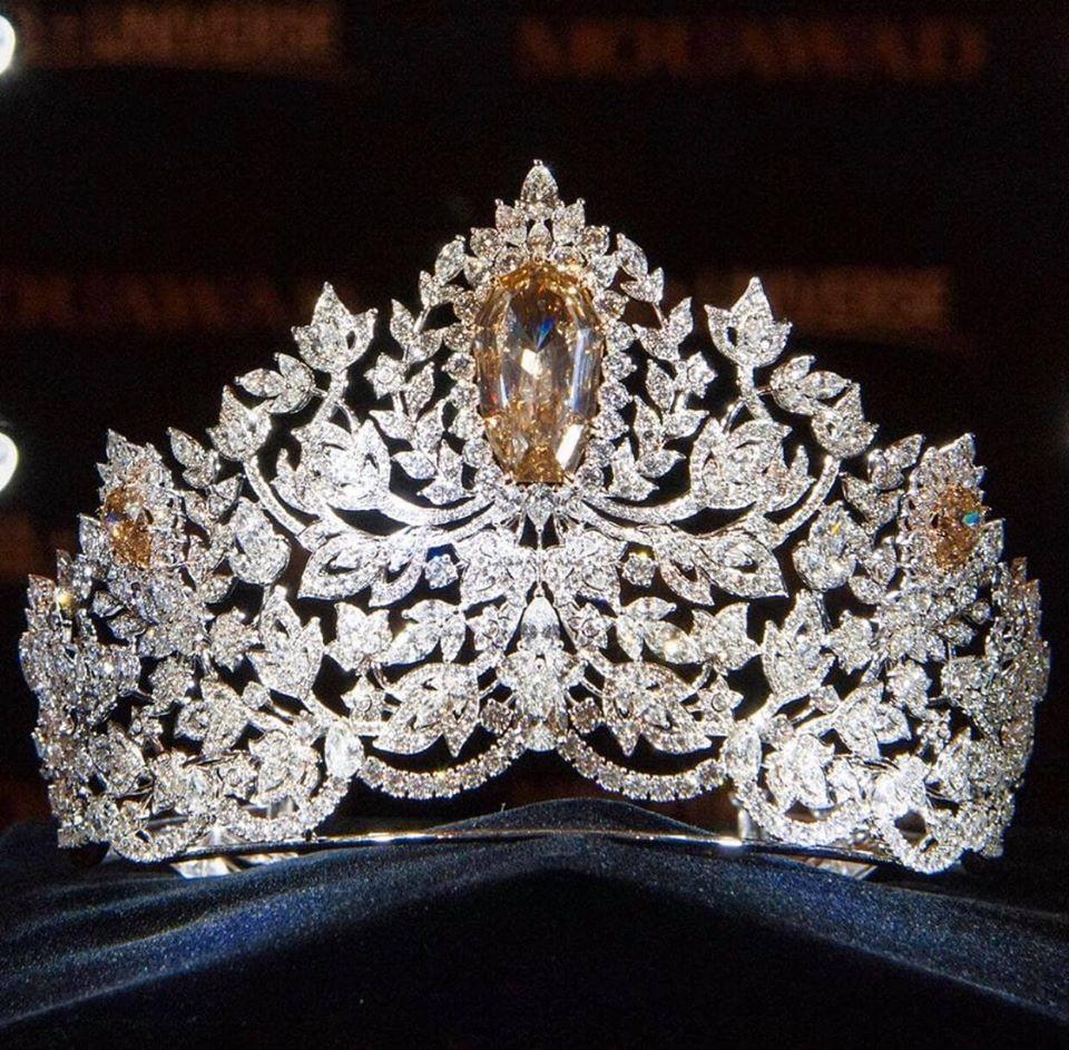 Miss Universe 2019 ra mắt vương miện 116 tỷ, khán giả ụp vội lên đầu Hoàng Thùy xem hợp hay không-4