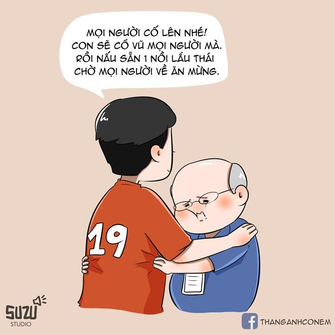 Xuất hiện hình ảnh Quang Hải ngồi ghế dự bị, ôm mặt đau đớn khi nhìn đồng đội bị Thái Lan dẫn bàn-2