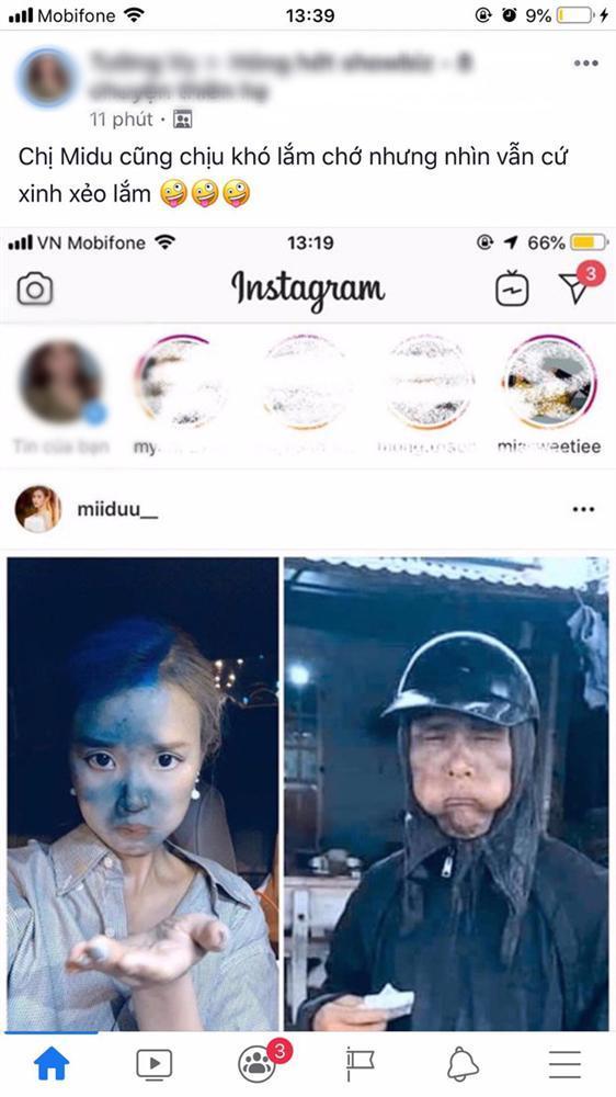 Midu làm dân mạng tranh cãi gay gắt khi đăng ảnh cosplay thành nhân vật cầm đầu gà-1