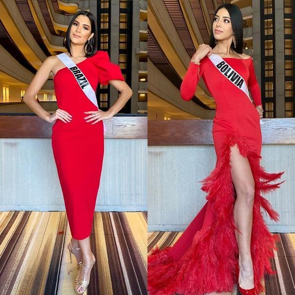 Miss Universe 2019 ngày thứ 8: Hoàng Thùy thay tới 4 bộ đồ mà vẫn có người chịu chơi không kém-8