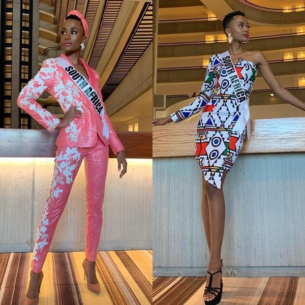 Miss Universe 2019 ngày thứ 8: Hoàng Thùy thay tới 4 bộ đồ mà vẫn có người chịu chơi không kém-11