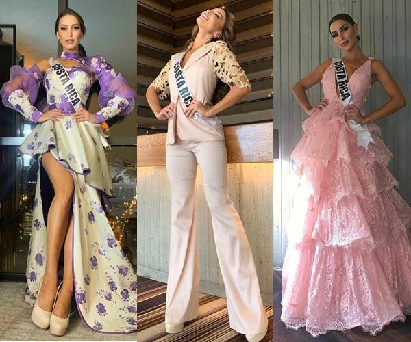 Miss Universe 2019 ngày thứ 8: Hoàng Thùy thay tới 4 bộ đồ mà vẫn có người chịu chơi không kém-5
