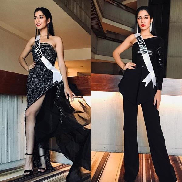 Miss Universe 2019 ngày thứ 8: Hoàng Thùy thay tới 4 bộ đồ mà vẫn có người chịu chơi không kém-13