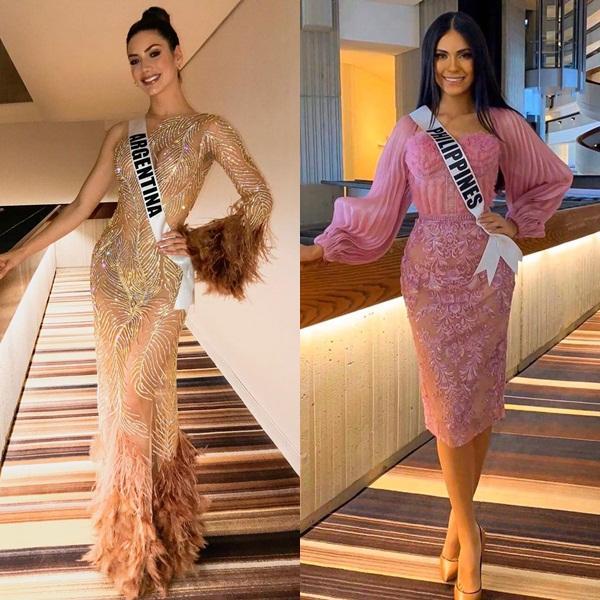 Miss Universe 2019 ngày thứ 8: Hoàng Thùy thay tới 4 bộ đồ mà vẫn có người chịu chơi không kém-14