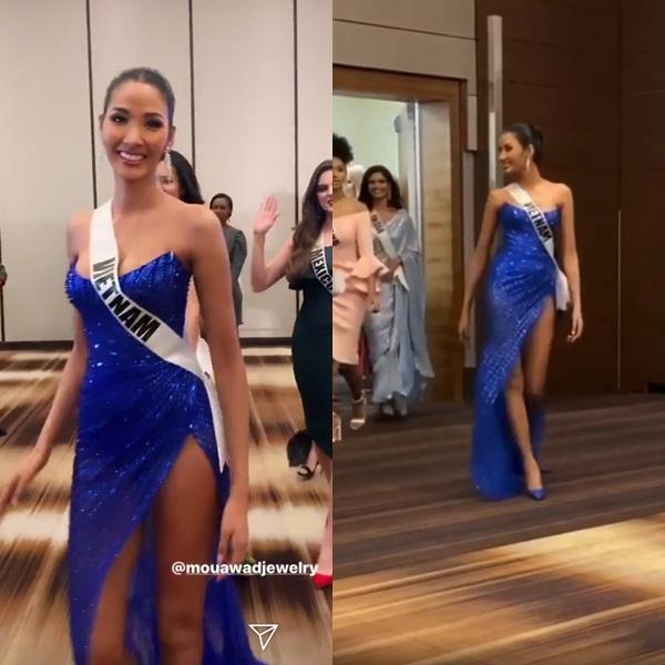 Miss Universe 2019 ngày thứ 8: Hoàng Thùy thay tới 4 bộ đồ mà vẫn có người chịu chơi không kém-4
