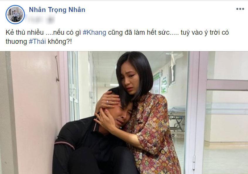Hoa hồng trên ngực trái: Thái sẽ chết vì ung thư dạ dày, Khang thương ông anh trời đánh mà khóc ngất?-3